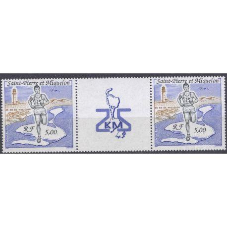 Timbre collection Saint Pierre et Miquelon - Yvert et Tellier N° 522A - Neuf sans charnière