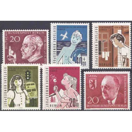 Allemagne Berlin Année 1960 Complète timbres neufs