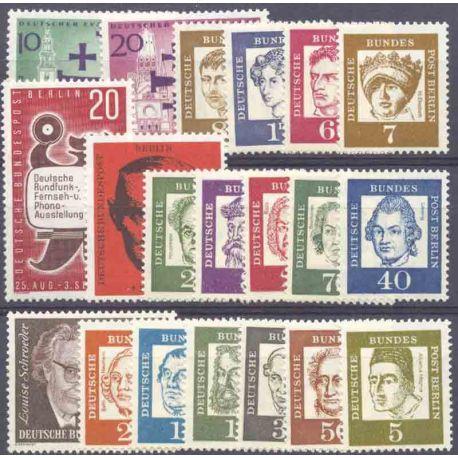 Allemagne Berlin Année 1961 Complète timbres neufs