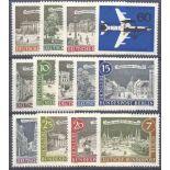 Deutschland Berlin Année 1962 vervollständigt neue Briefmarken