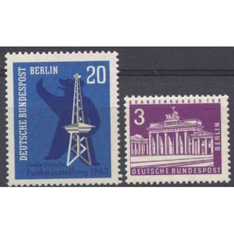 Allemagne Berlin Année 1963 Complète timbres neufs