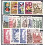 Deutschland Berlin Année 1964 vervollständigt neue Briefmarken
