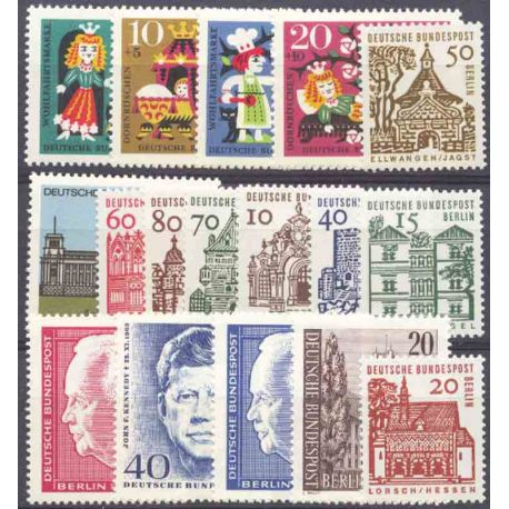 Allemagne Berlin Année 1964 Complète timbres neufs