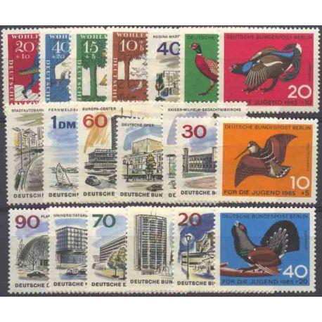 Allemagne Berlin Année 1965 Complète timbres neufs