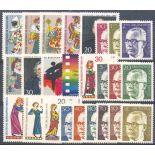 Deutschland Berlin Année 1970 vervollständigt neue Briefmarken