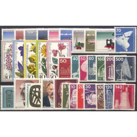Allemagne Berlin Année 1975 Complète timbres neufs