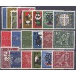 Deutschland die BRD Année 1960 vervollständigt neu