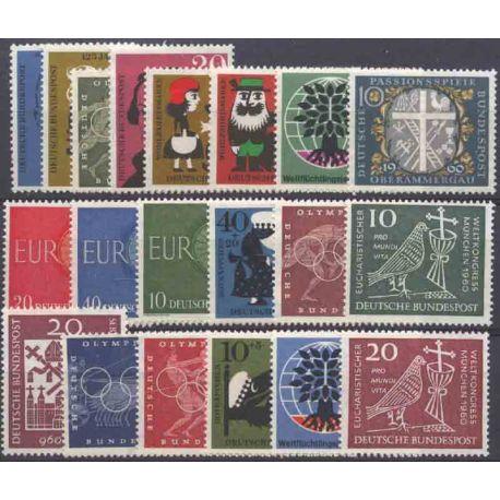 Allemagne RFA Année 1960 Complète neuves