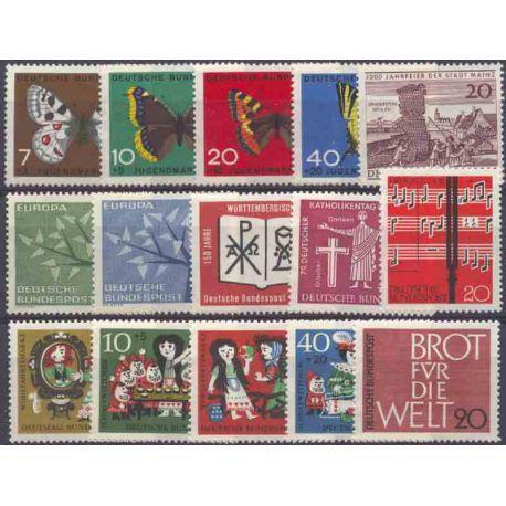 Allemagne RFA Année 1962 Complète neuves