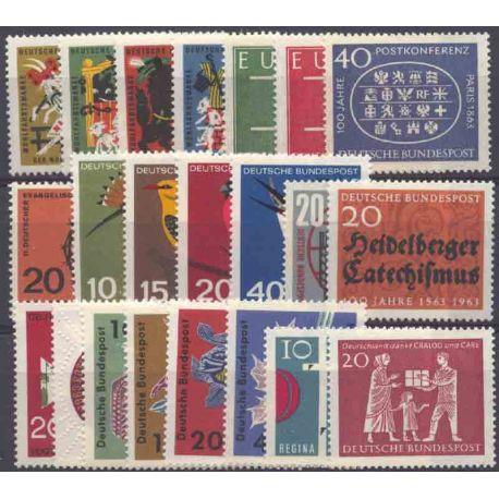 Allemagne RFA Année 1963 Complète neuves