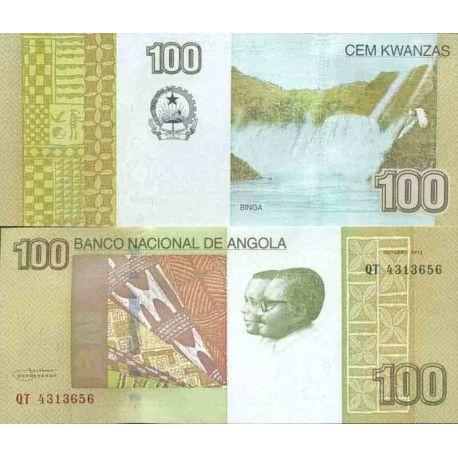 Billete de banco colección Angola - PK N° 153 - 100 Kwanza