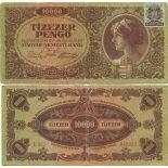 Billete de banco colección Hungría - PK N° 119 - 10000 Pengo