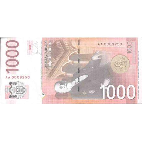 Billet de banque collection Serbie - PK N° 60 - 1000 Dinara