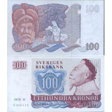 Billet de banque collection Suede - PK N° 54 - 100 Kronor