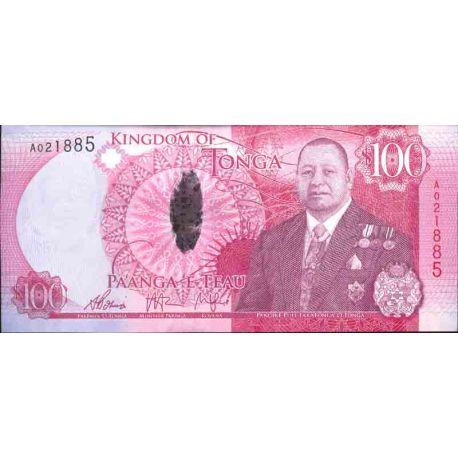 Banknote Tonga collection - km No N° 49 - 100 Pa' anga