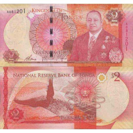 Banconote collezione Tonga - PK N° 999 - 2 Pa'anga