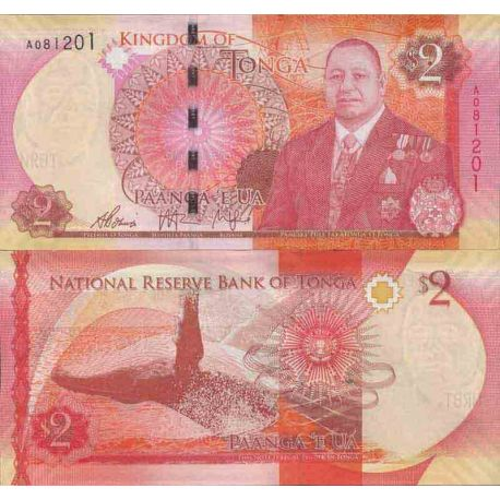 Billets de collection Billet de banque collection Tonga - PK N° 44 - 2 Pa'anga Billets du Tonga 5,00 €