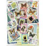 Colección de sellos Raso AL Khaima usados