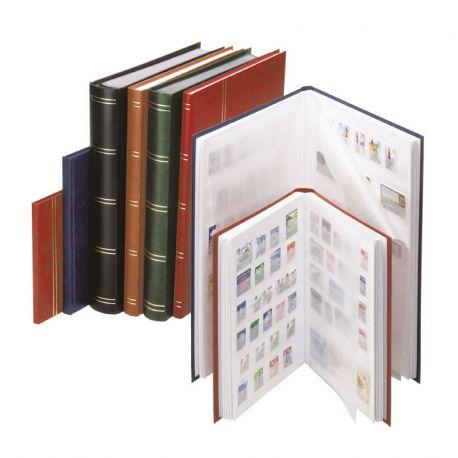 Einsteckbücher A4 Lindner Standard 32 weiße Seiten