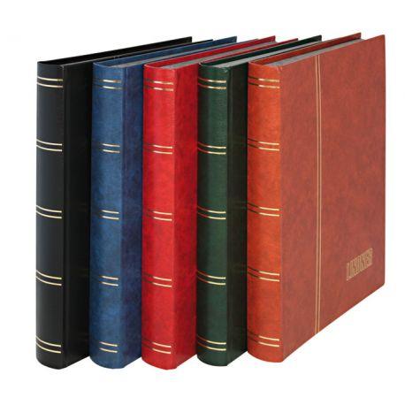 Einsteckbücher A4 Lindner Standard 48 schwarze Seiten