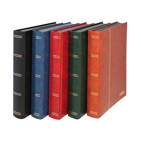Einsteckbücher A4 Lindner Standard 64 schwarze Seiten