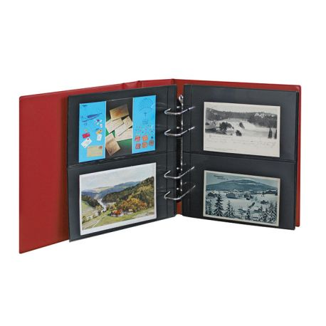 Lindner Album Multi collect pour cartes postales
