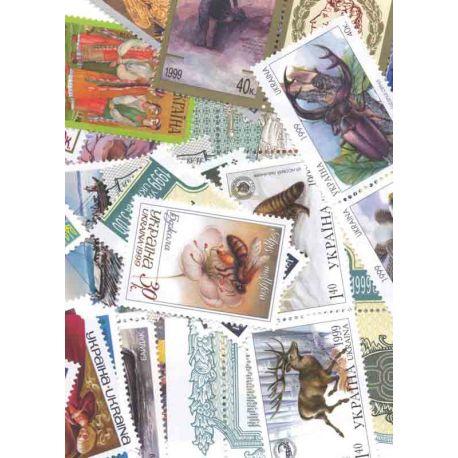 Postfrisch Breifmarken Ukraine komplette Jahre 1999