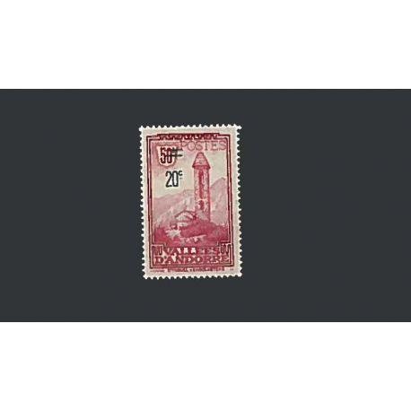 Andorre Français Année 1935 Complète timbres neufs