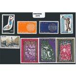 Französisches Andorra vervollständigt Jahr 1970 neue Briefmarken