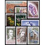 Französisches Andorra vervollständigt Jahr 1980 neue Briefmarken