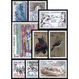 Französisches Andorra vervollständigt Jahr 1981 neue Briefmarken