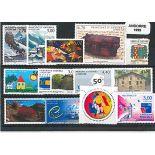 Französisches Andorra vervollständigt Jahr 1999 neue Briefmarken
