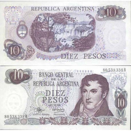 Billets de collection Billet de banque collection Argentine - PK N° 289 - 10 Pesos Billets d'Argentine 4,50 €