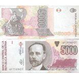Billet de banque collection Argentine - PK N° 330 - 5000 Australes