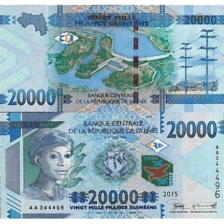 Billets de collection Billet de banque collection Guinee Française - PK N° 50 - 20 000 Francs Billets de Guinée Française 19,...