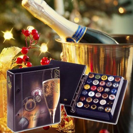 Rangez vos capsules de Champagne avec Safe-id Classeur capsules de champagne: 90 plaques 32,90 €