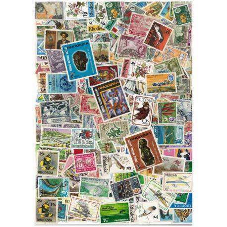 Rhodesie - 25 verschiedene Briefmarken