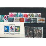 Lussemburgo anno 1969 completa francobolli nuovi