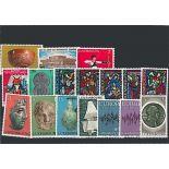 Lussemburgo anno 1972 completa francobolli nuovi