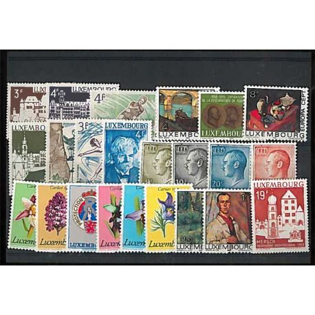 Luxembourg Année 1975 Complète timbres neufs
