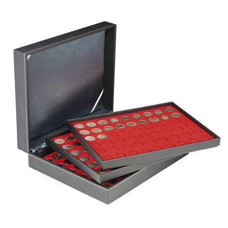 Coffret NERA XL avec plateaux pour 162 pièces de 2 euros