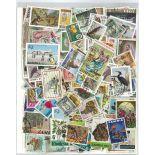 Sammlung gestempelter Briefmarken Rhodesien Sambia