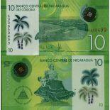Billet de banque collection Nicaragua - PK N° 209 - 10 Cordobas