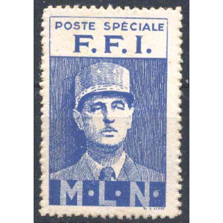 FRANCIA INIZIALMENTE etichetta del 1943 della resistenza