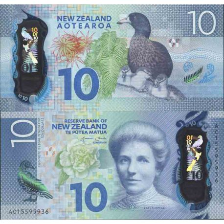 Banknote collection Nlle Zealand - Pick N° 999 - 10 Dollars