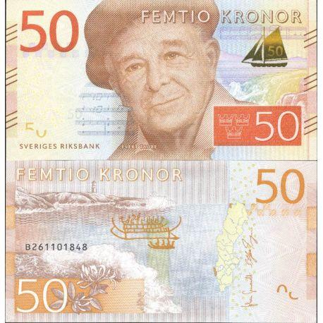 Billet de banque collection Suede - PK N° 999 - 50 Kronor
