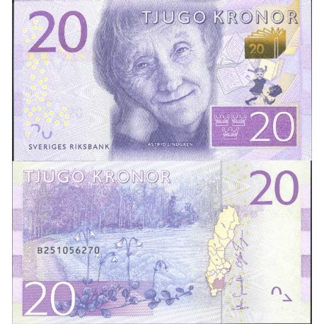 Banknote Sweden collection - Pick N° 999 - 20 Kronor