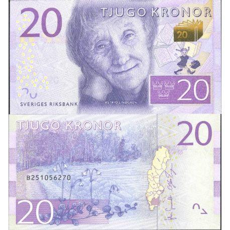 Billet de banque collection Suede - PK N° 999 - 20 Kronor