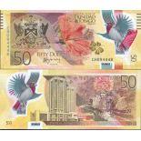 Banknote Sammlung 3-Trinidad und Tobago - PK Nr. 54 - 50 Dollar