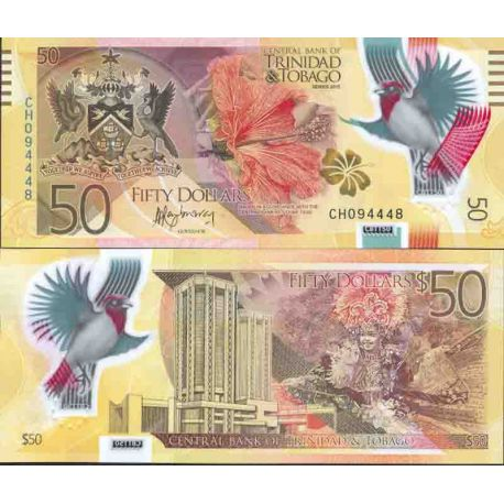 Banknote collection Trinity and Tobago - Pick N° 61 - 50 Dollars